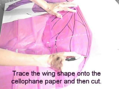 Tutorial on how to make faerie wings