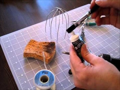 Wire and Clay Sculptures