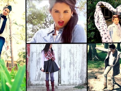 Adorable Fall Outfit Ideas for School.Work!