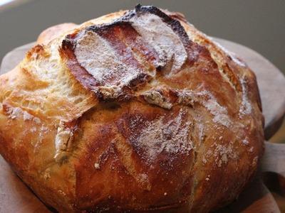 Artisan Bread in Five minutes a day Easy Bread Recipe : GardenFork.TV
