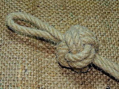 Bosuns Whistle Lanyard Knot How to Tie