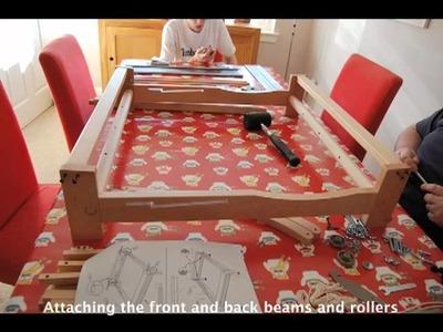 Building the Ashford 8 shaft Table Loom