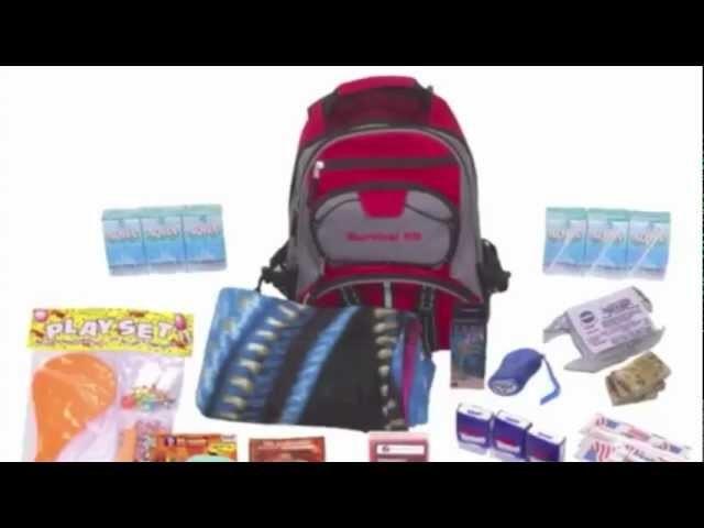 Children's Disaster Preparedness Kit from survivallifepack.com