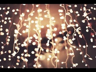 ♡ CHRISTMAS ROOM DECOR and lighting ideas ♡