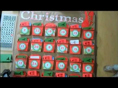 Cricut Art Philosophy Advent Calendar - Countdown to Christmas Project