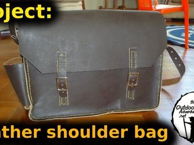 DIY Project: Leather shoulder bag