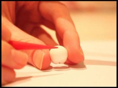 ◕‿‿◕ Tooth! Kawaii Friday 47 (Tutorial in Polymer Clay)