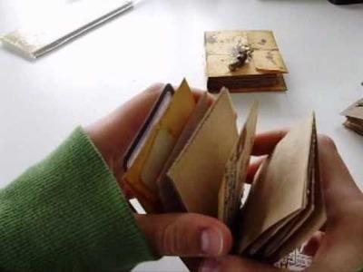 Envelope mini books pt.1
