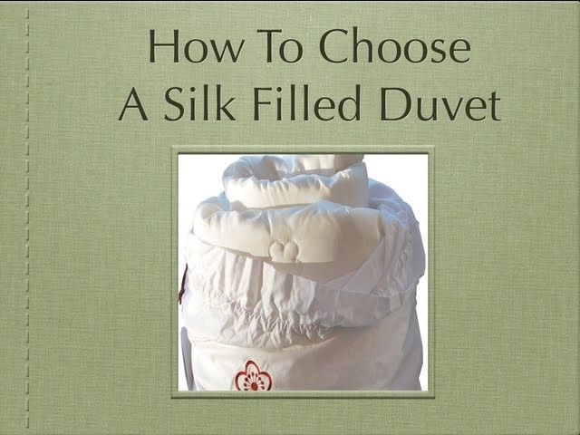 How To Choose A Silk Filled Duvet - Your Essential Guide