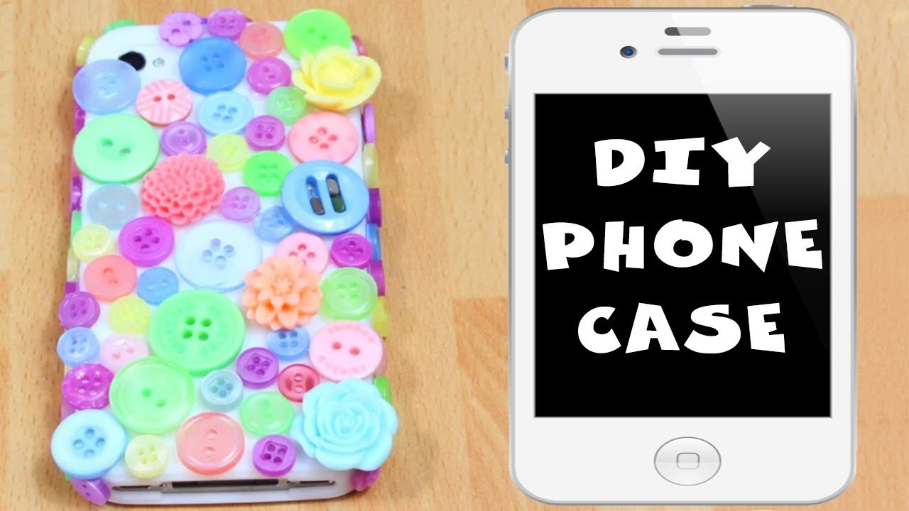 How To Decorate A Phone Case At Home