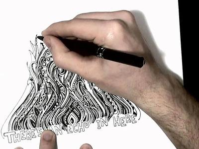 How to Doodle: Weird Bizarre Stuff [Speed Edit]