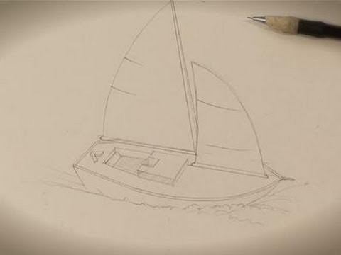 How To Draw A Great Boat