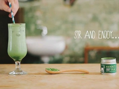 How To: Iced Matcha Green Tea Latte Recipe