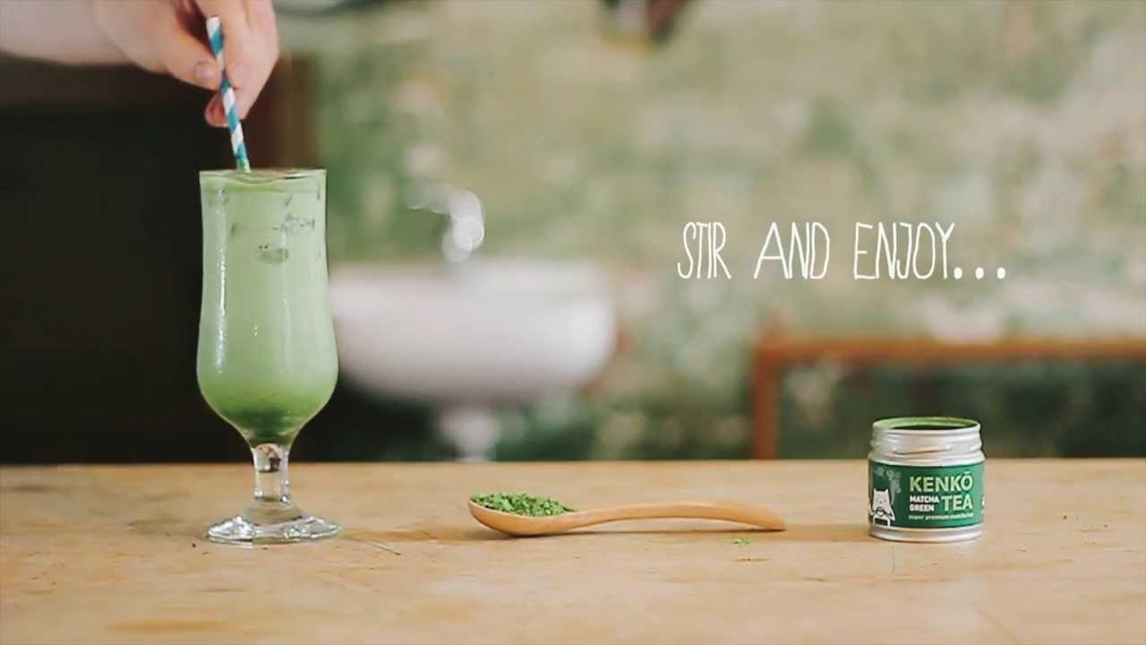 How To: Iced Matcha Green Tea Latte Recipe