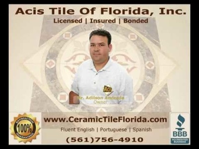 How To Install A Ceramic Tile Floor With A Diagonal Pattern 3