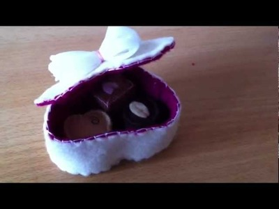 How To Make A Box Of Chocolates From Felt! Pt2 (Mothers Day Tutorial)
