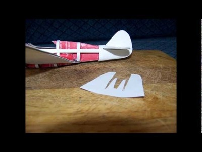 How to make a cool  -  WARHAWK   Paper  Airplane Model