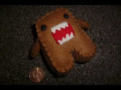 How to Make a Kawaii Domo Plushie (Plush Tutorial)