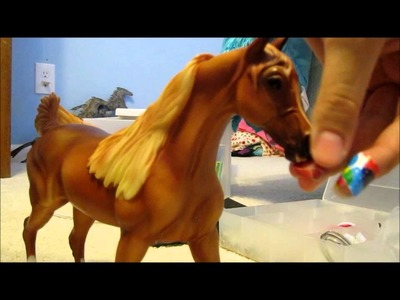 How to make a realistic breyer halter!