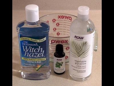 How to Make All Natural Vegan Mouthwash