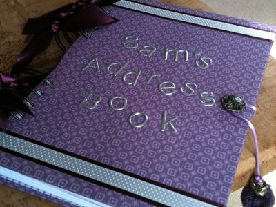 How to make an Address Book