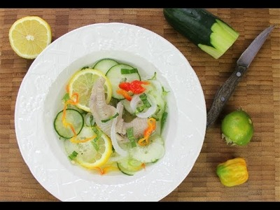 How To Make Caribbean Chicken Foot Souse.