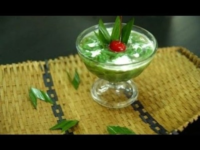 How to make cendol