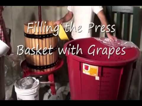 How to Make Homemade Wine from Chilean Merlot Grapes Part 3 of 5