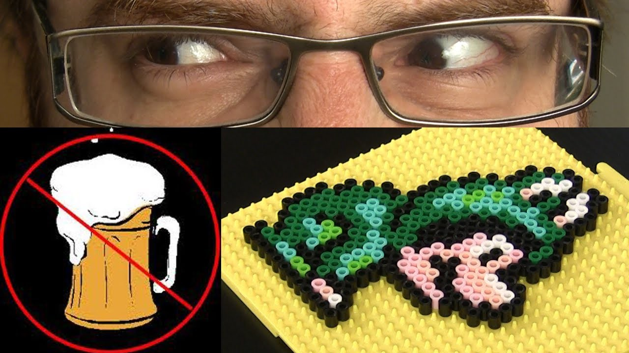 How to make NINTENDO fridge magnet PIXEL ART!