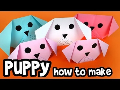 How to make - Paper Puppy