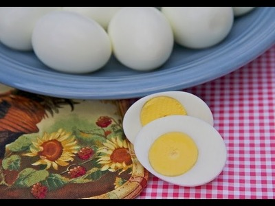 How To Make Perfect Hard Boiled Eggs- Easy Peel