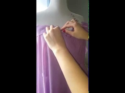 How to make prom dress - Part I - draping a corset
