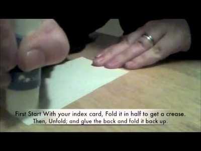 How to Make Simple Earring Cards
