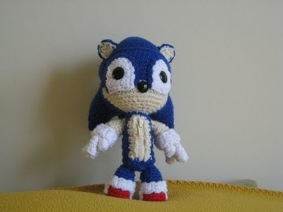How to Make Sonic Sackboy!!
