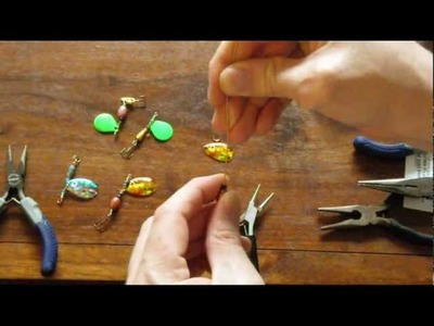 How To Make Spinner Lures for Fishing