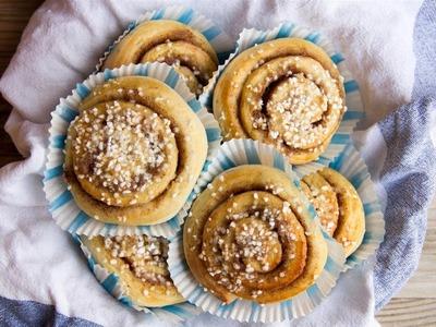 How to make Swedish Cinnamon Buns (Kanelbullar)