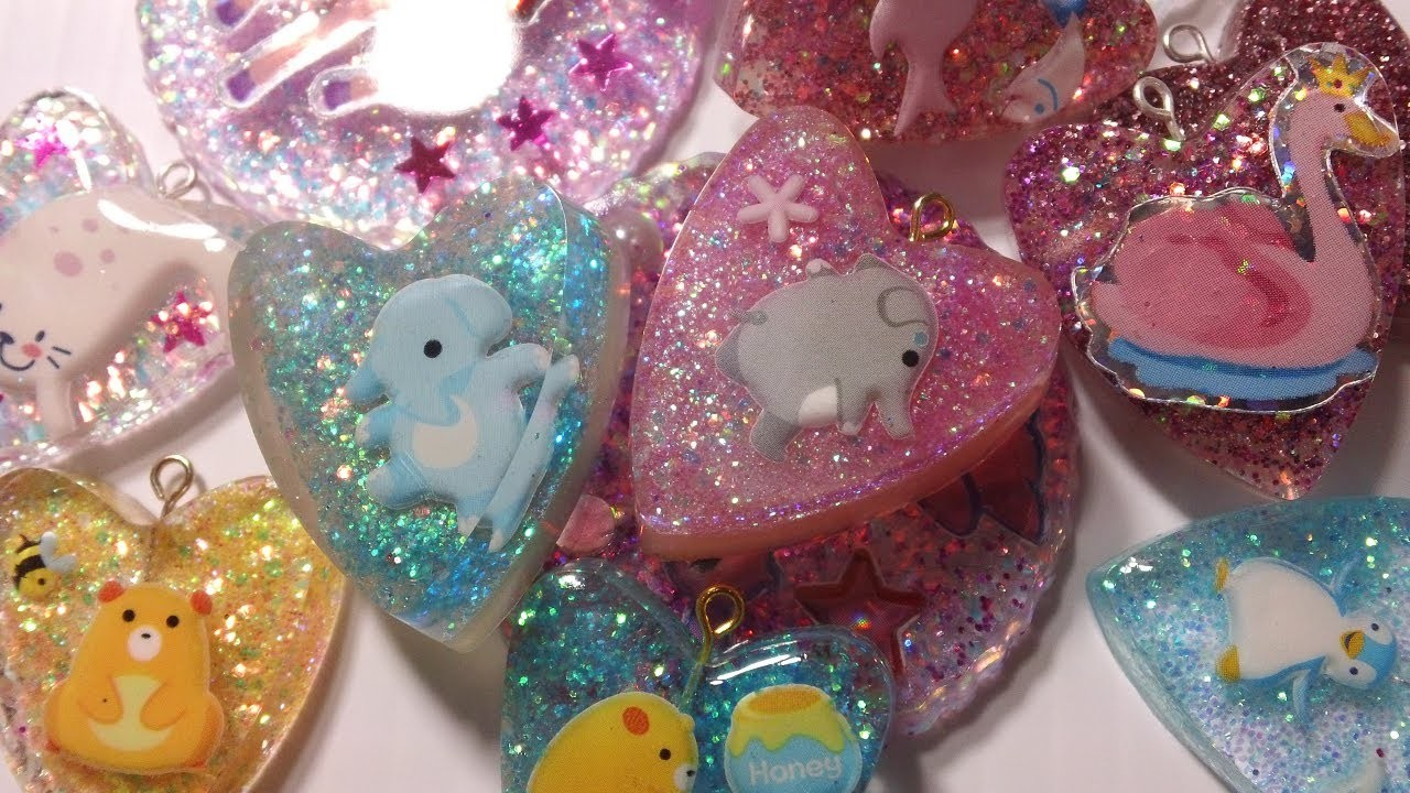HOW TO: Resin Charms (Full Tutorial)
