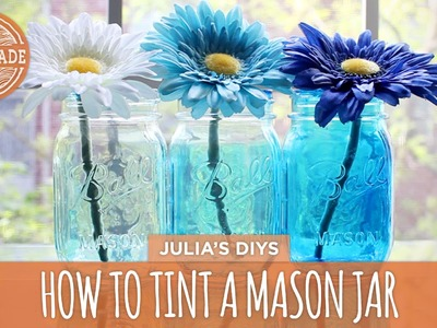 How to: Tint Mason Jars - HGTV Handmade