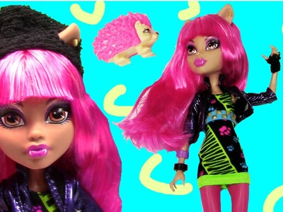 Howleen Wolf Monster High Doll 13 Wishes Movie Review Daughter of the Werewolf