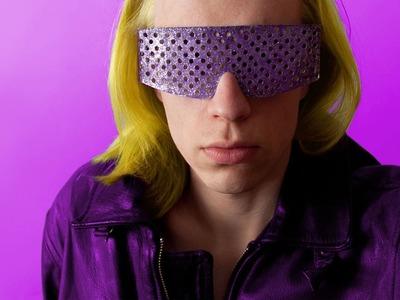 Lady Gaga Dance in the Dark Purple Costume – Sire Sasa tutorial 39