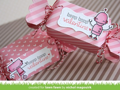 Lawn Fawn | Candy Box and Stitched Labels