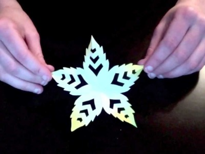 Leaf Kirigami Tutorial