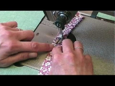 Magalie's Technique For Sewing Mini Pleated Ruffles