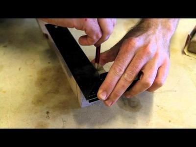 Making a Ukulele - Stage 1: Neck Construction Part 3