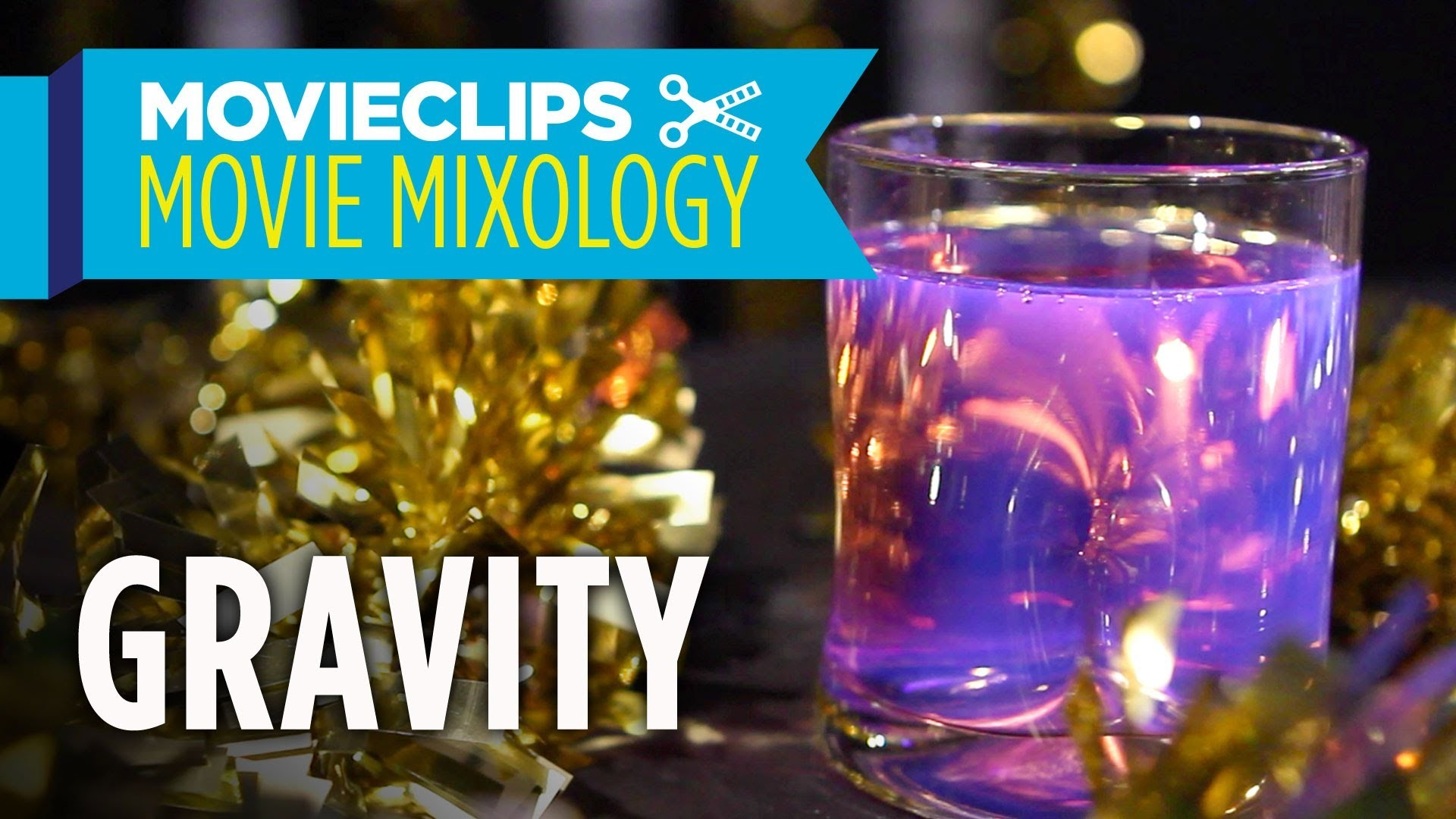 """Movie Mixology: Oscar Edition (2014) - How To Make A Gravity """"Anti-Gravity Cocktail"""""""