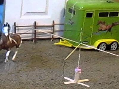 My homemade Breyer horse walker