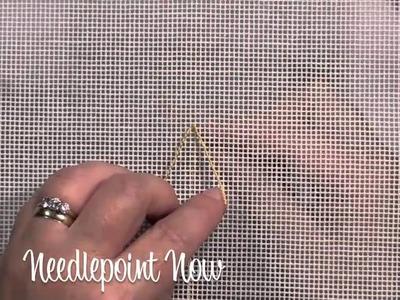 Needlepoint Now   Lazy Daisy Stitch
