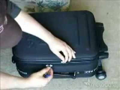 Open A Locked Suitcase With A Pen