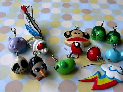 Polymer Clay Charm Update #2 (& tutorial Q's)