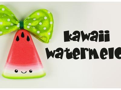 Polymer clay Kawaii Watermelon TUTORIAL